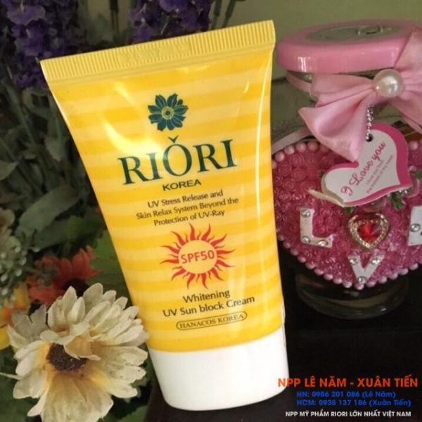Kem chong nang RIORI HANA Sun Cream SPF50