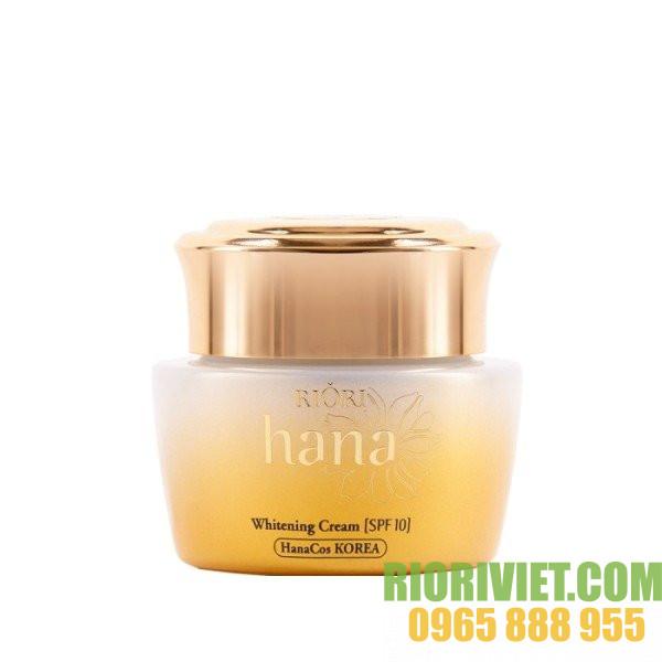 Kem duong da Riori Hana Whitening Cream 50ml