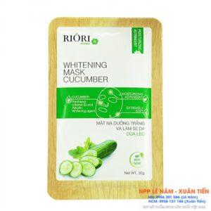 Mặt nạ Cellulose Riori Mask Cucumber