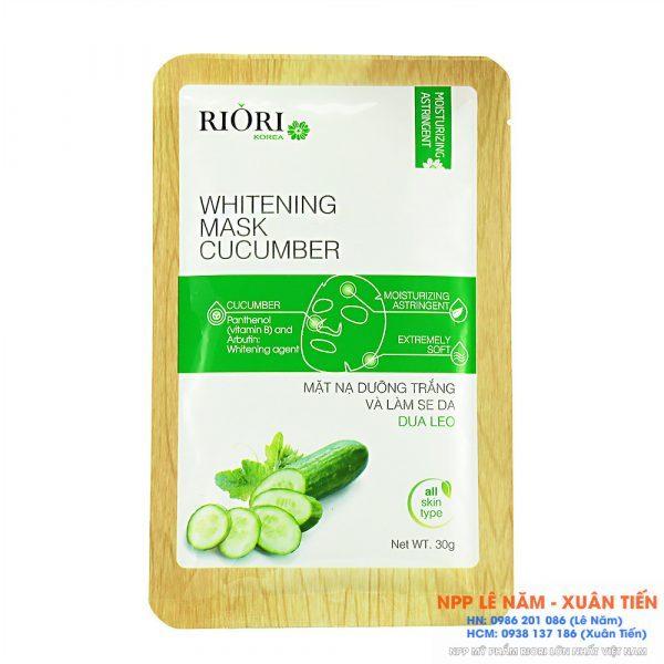 Mat na Cenllulose Riori Mask Cucumber