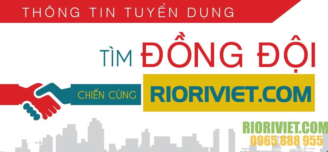 Tuyển đại lý phân phối Mỹ phẩm Riori Việt Nam