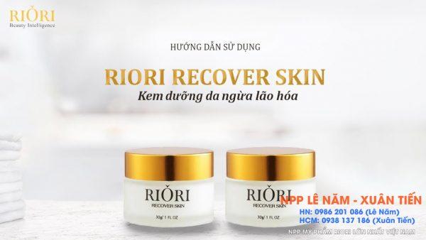 Kem tri nam tai tao da recover skin riori
