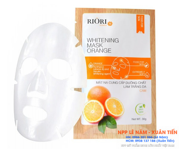 Mat na cellulose Riori Mask Orange