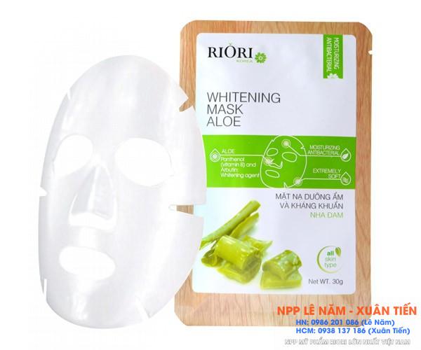 Mat na nha dam cellulose Riori Mask Aloe