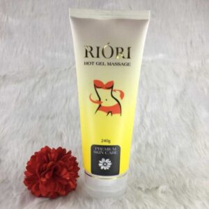 Hot Gel Massage Riori – Gel tan mỡ bụng thảo dược