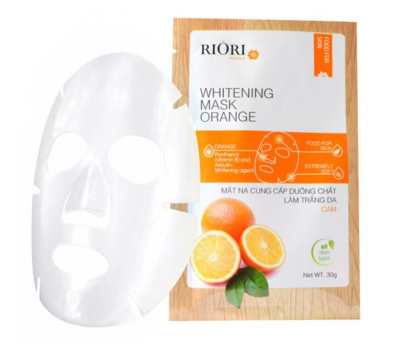 Mat na Cenllulose Riori Mask Orange