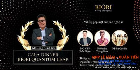 Gala Dinner Riori Quantum Leap