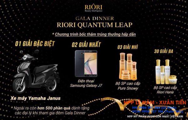 Phan thuong Gala Dinner Riori Quantum Leap