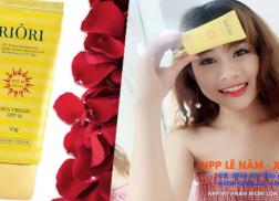 Review kem chong nang Riori Spf 50