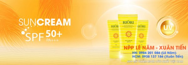 Review Sun Cream SPF50 Riori