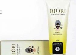 chọn mặt nạ thải độc riori