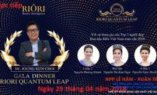 gala dinner riori quantum leap 2018