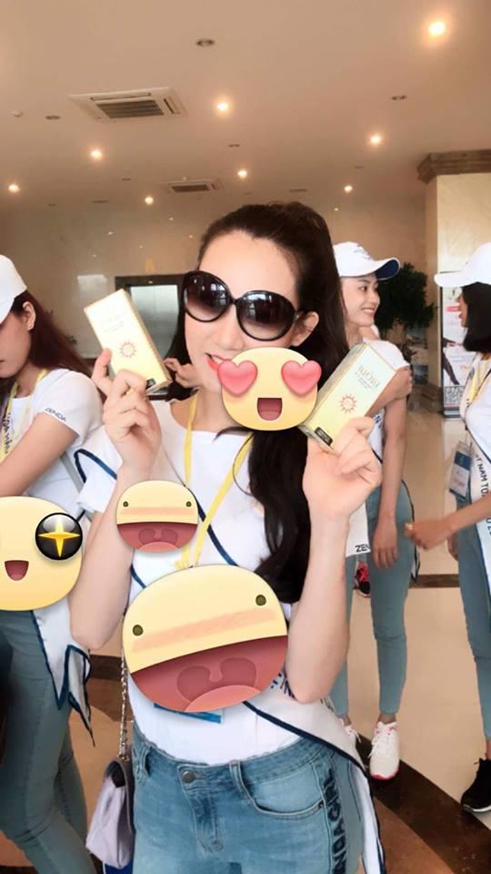 kem chống nắng riori cùng hoa hậu biển 2018