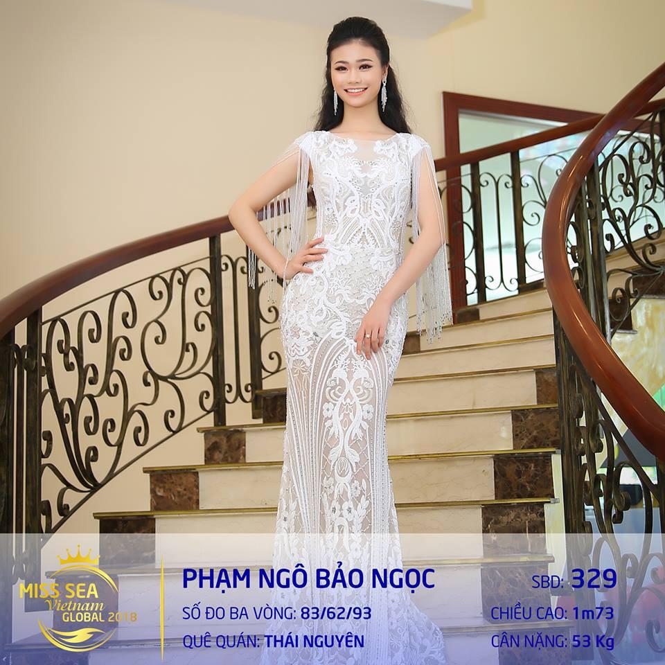 Riori bình chon Bảo Ngọc Hoa hậu biển 2018