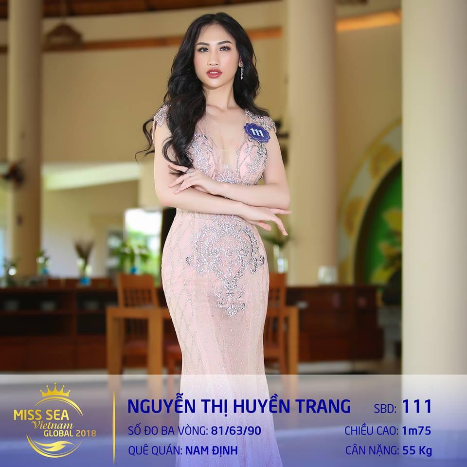 Riori bình chon Huyền Trang Hoa hậu biển 2018