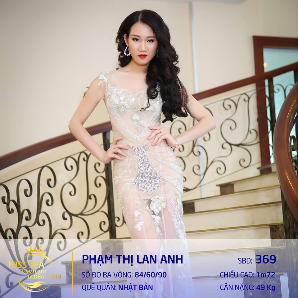 Riori bình chọn Lan Anh Hoa hậu biển 2018