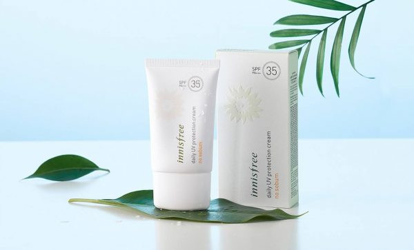 Kem chong nang Han Quoc Innisfree Daily Uv Protection Cream No Sebum
