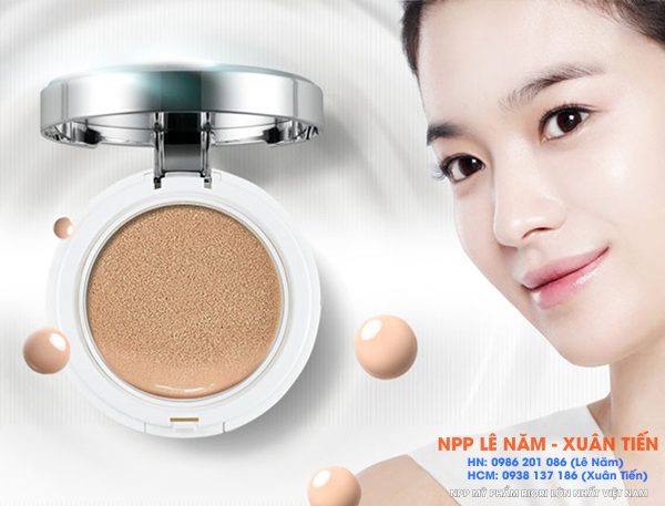 Review phan nuoc Riori BB Cushion