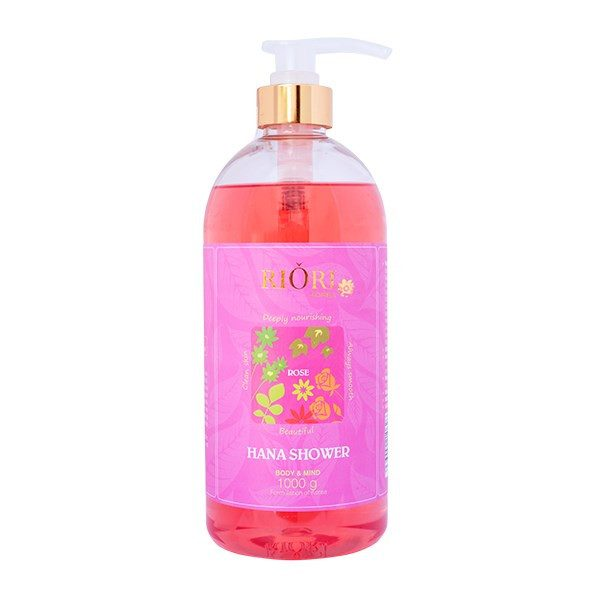 Sua tam hoa hong riori gel rose 1000ml