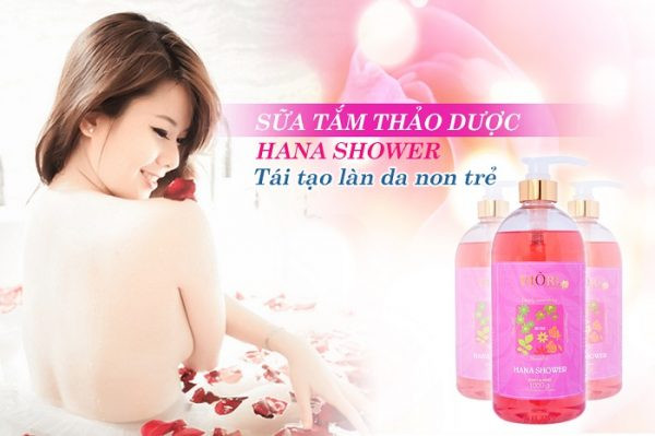 Sua tam hoa hong riori gel rose