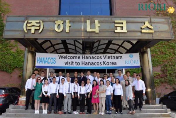 Hanacos Viet Nam tham Hanacos Han Quoc