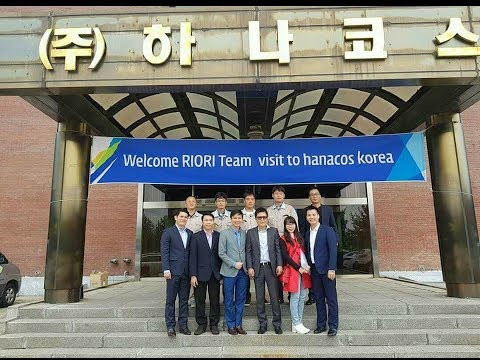 Riori team tham Hanacos Han Quoc