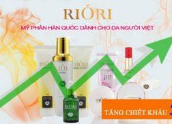 Riori tang chieu khau kinh doanh 5%