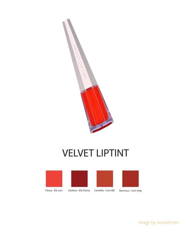 Son kem Riori - Velvet Lip tint