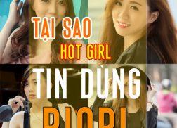 Tai sao hotgirl tin dung my pham riori