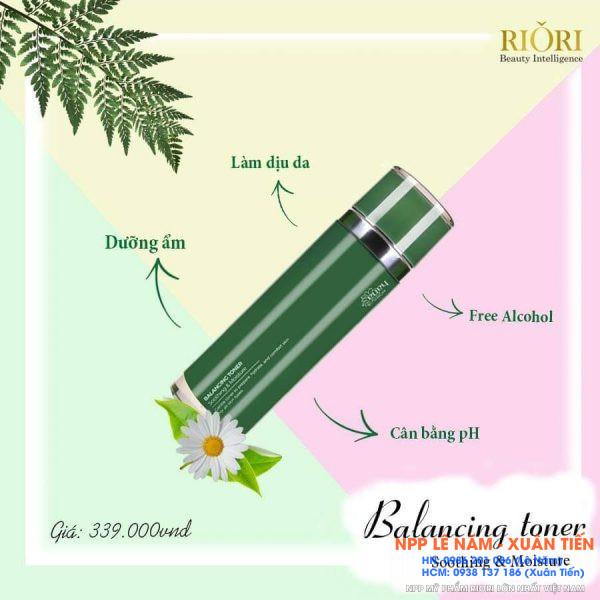Cong dung Balancing Toner Riori