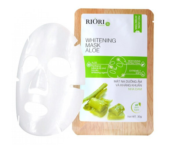 mat na nha dam han quoc Cellulose Riori Mask Aloe co gi tot