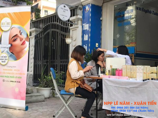 Hanh trinh kien tao 1 trieu lan da NPP My Pham Riori Hung Hoang Le Nam 4