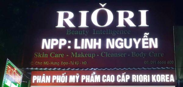 Showroom NPP Riori Linh Nguyen