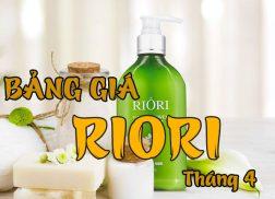 Bang gia my pham riori thang 4-2019